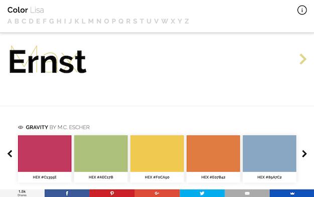 website-inspiration-colorlisa