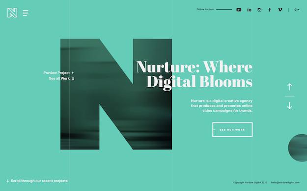 website-inspiration-nurture
